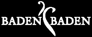 Logo der Stadt Baden-Baden in weiß