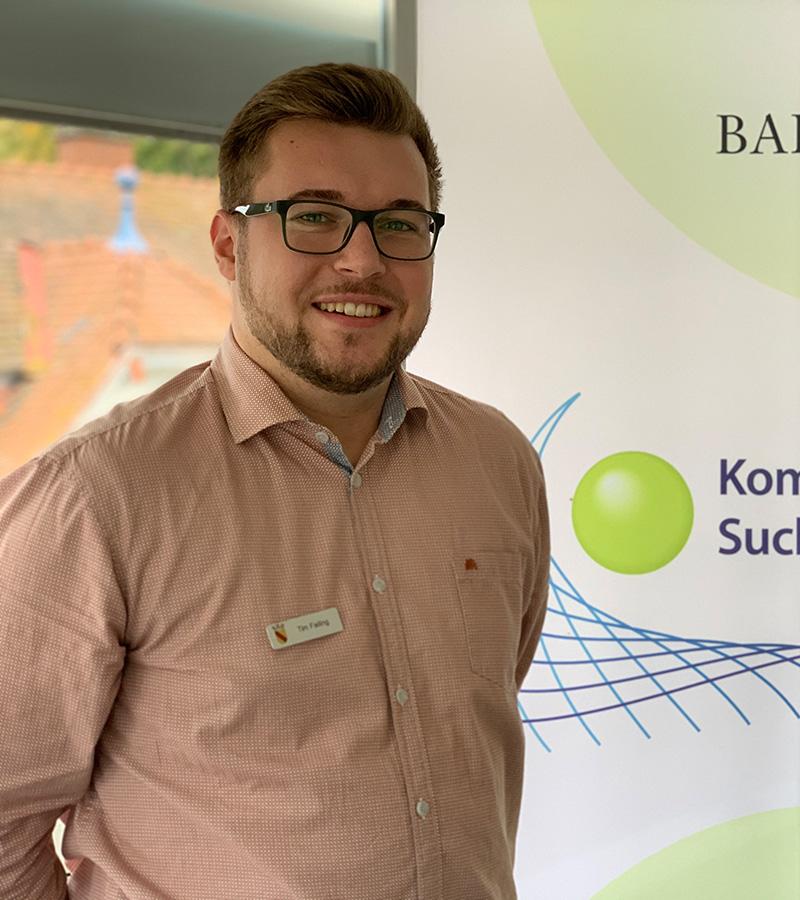 Tim Failing Suchtbeauftragter der Stadt Baden-Baden